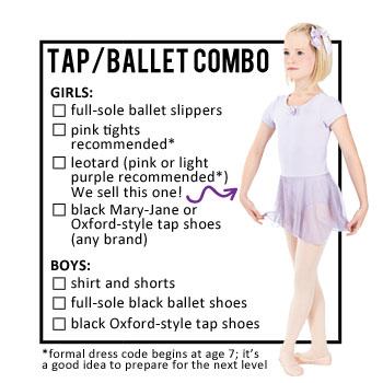 Tap/Ballet Combo