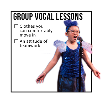Group Vocal Lessons