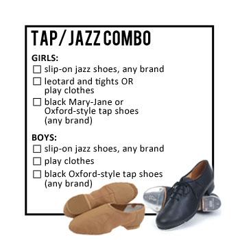 Tap/Jazz Combo